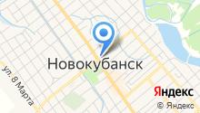 Новокубанское районное общество охотников и рыболовов на карте