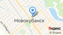 Управление Федерального казначейства по Краснодарскому краю в Новокубанском районе на карте