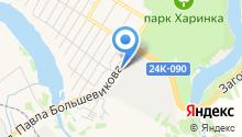 Детройт на карте