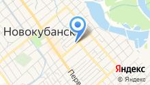 МРЭО №7 по обслуживанию Новокубанского района на карте
