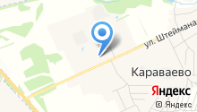 Губернский на карте