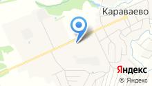 Караваевская средняя общеобразовательная школа на карте