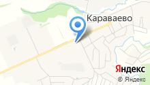 Отделение почтовой связи пос. Караваево на карте