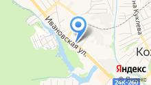 Помощница на карте