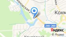 Би-рейс на карте