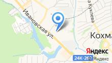 Отдел ГИБДД Межрайонного отдела МВД России Ивановский на карте