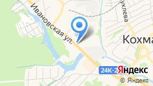Швейная фабрика на карте