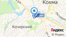 Кохомская сервисная служба на карте