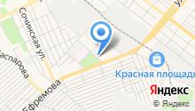 Автоколонна Кубаньтурист на карте