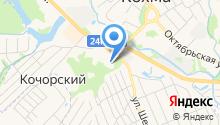 Кохомская коррекционная школа-интернат на карте