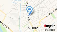 Автоматические ворота Кохмы на карте