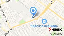 Автоколонна № 1198, ФГУП на карте