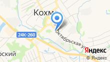 Столица Текстиля на карте