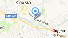 Многофункциональный центр предоставления государственных и муниципальных услуг городского округа Кохма на карте