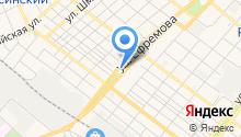 Адонис на карте
