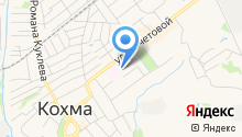 Средняя общеобразовательная школа №6 городского округа Кохма на карте