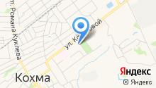 Кохомская городская больница, ОБУЗ на карте