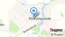 Никольская школа-интернат на карте