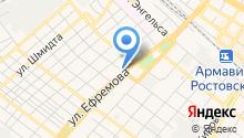 PONY EXPRESS на карте