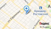 Армавирский городской клуб служебного собаководства на карте
