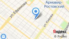 Альянс-Русский текстиль Армавир на карте