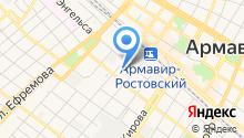 Армавир-Кубань БДД на карте