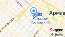 Армавирский техно-коммерческий центр ГАЗ на карте
