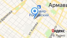 Автомоечная станция на карте