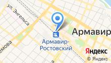 Hostel Armavir на карте
