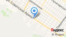 АНАТ, ЗАО на карте