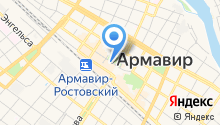 Армавирский театр драмы и комедии на карте