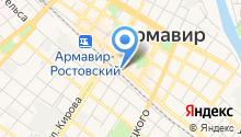 Автостанция г. Армавира на карте