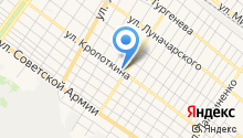 Амадеус на карте
