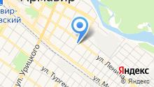 Шиномонтажный павильон на ул. Пугачева на карте