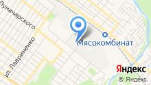 Агроюг на карте