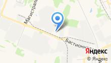 Авторизированный кузовной сервис на карте