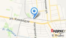 Региональный шинный центр на карте
