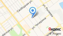 Тамбовская городская станция по борьбе с болезнями животных на карте