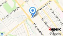Магазин автозапчастей для ГАЗ, УАЗ, КАМАЗ и иномарок на карте