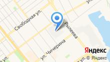 Автосервис на Чичерина на карте