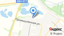 Тамбовский асфальт на карте