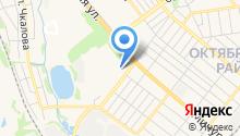 Автомойка на Мичуринской на карте