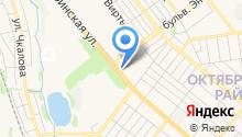 Сеть магазинов кондитерских изделий на карте