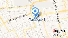 Автоклимат Тамбов на карте