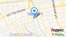 Автосервис на Елецкой на карте