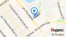 Магазин автотоваров для ВАЗ на карте