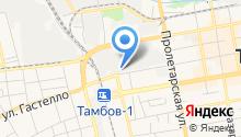 Авен на карте