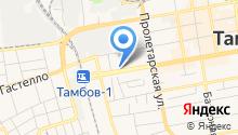 Газовик на карте