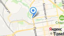 Торгово-установочный центр автостекла на карте