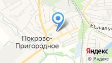 Покрово-Пригородная средняя общеобразовательная школа на карте